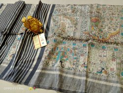 Halim 6.3 M (with Blouse Piece) Mulberry Silk Saree