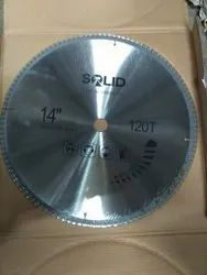 Steel Silver TCT Saw Blade, For Industrial