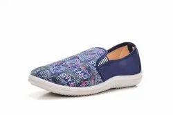 Unisex Printed Ladies Jeans Shoes