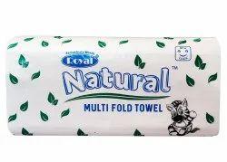 Natural Multi Fold Towels