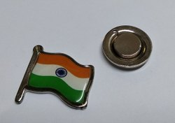 Flag Magnetic  Badge
