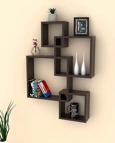 Wall Mount Shelf Four Shelves, Shelving For Living Room Walls
