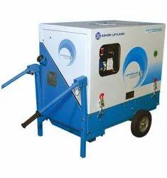 5 kVA Ashok Leyland Portable Diesel Generator, 3 Phase