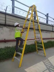 FRP TWIN STEP LADDER