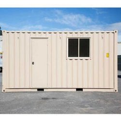 Portable Office Paint Coated Container