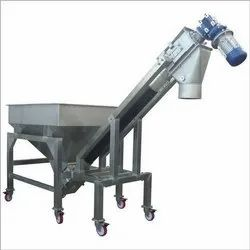 Inclined Screw Feeder with Hopper