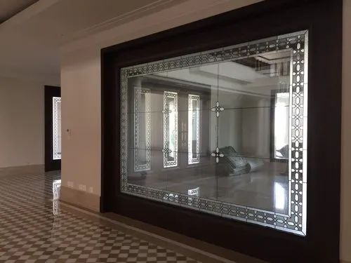 Transparent Living Room Glass Partition For Home Rs 1650 Square Feet Id 22714331791