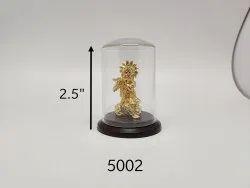Gold Plated Krishna Idol