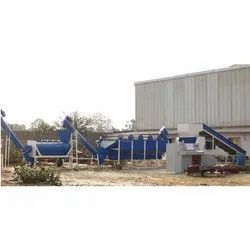 High Speed Road Waste Plastic Washing Plant