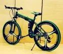 Green Hummer Foldable Cycle