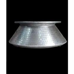 Round Aluminium Cooking Handi, Capacity: 5 Ltrs