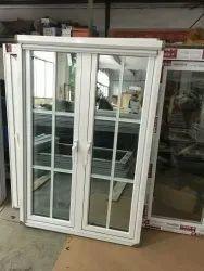 Modern Powder Coated White Aluminium Casement Window, Size/Dimension: 3x4 Feet
