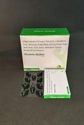 Omega-3 Fatty Acids L-Glutathione Anti Vit Minerals Trace Elements Soft Cap (5g Composition)