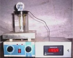 Shrinkage tester for leather