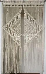 Decorative Macrame Curtain