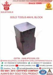 Gold Tool Block Anvils Jewellery Tools