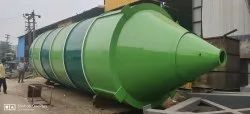 Mild Steel MS Storage Tank Fabrication