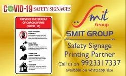 Covid-19 Safety Posters and Signage