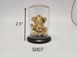 Gold Plated Lord Ganesha Idol