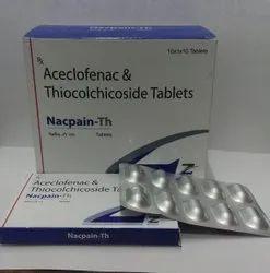Aceclofenac Thiocolchicoside