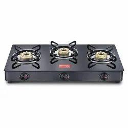 Prestige Gas Stove MAGIC GTMC 3 BURNER, For Kitchen