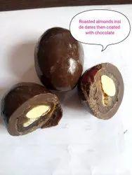 Chocolate Coated Almonds
