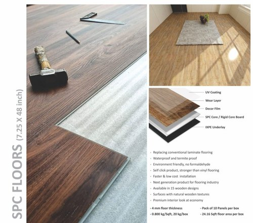 Hardy Plast Spc Flooring Finish Type, How Much Laminate Flooring Is In A Box