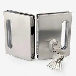 CR-GSL-02 Sliding Door Lock with Strike Plate