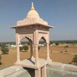 5 Feet Sandstone Temple