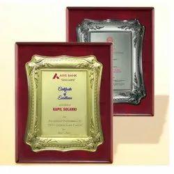 FP 10641 Metal Plate Memento