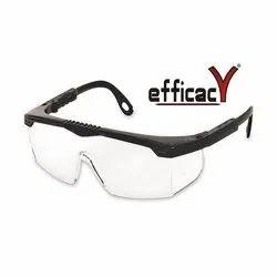 Transparent Polycarbonate Safety Goggle, Size: Medium