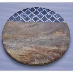 CII-566 Serving Wooden Platter