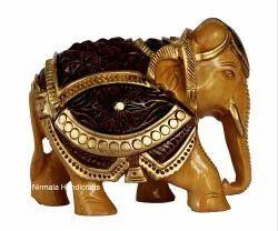 Wood Antique Elephant Statue
