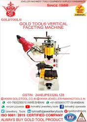Vertical Faceting And Milling Machine