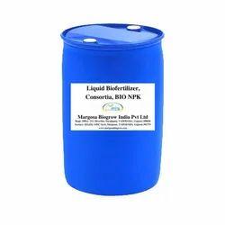 Liquid Biofertilizer NPK, Liquid Biofertilizer Consortium, Bulk, Drum