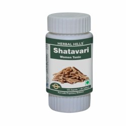 Herbal Hills Shatavari 60 Tablets, Natural And Vegan Rejuvenating Women Tonic
