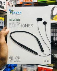 Syska C2-BK Bluetooth Headset with mic