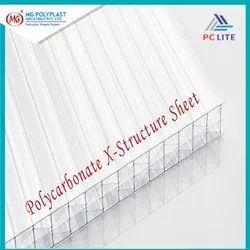 Polycarbonate X-Structure Sheet