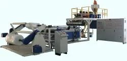 High Speed Air Bubble Extrusions Film Making Plant