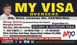 Standard Visitor Canada Study Visa, 1, 10 Years