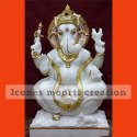 Designer Marble Ganesh Statues