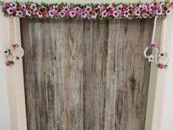 Artifical White Beautiful Floral Bandhanwar, For Decoration