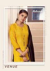 Kalaroop Venue Rayon Digital Printed Lehenga Style Salwar Kameez