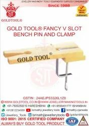 Fancy V Slot Bench Pin and Clamp