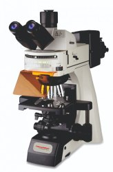 MediRay 1000x三眼研究荧光显微镜,LED,型号:MHFM-4000