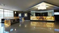 Reception Office Interior Designing Service