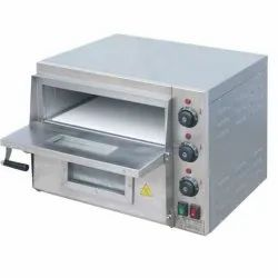 Electric Pizza Oven Stone Base Double Deck