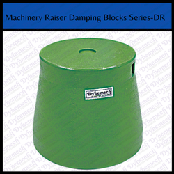 Machinery Raiser Damping Blocks Series - DR