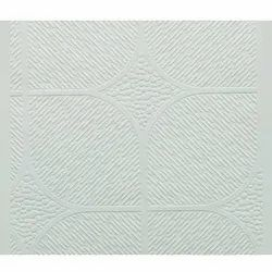 Designer PVC Laminated Gypsum False Ceiling Tile
