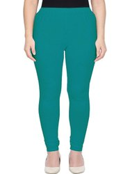 Mint Green 4 Way streachable cotton lycra leggings